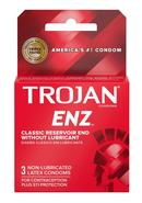 Trojan Condom Regular Non Lubricated 3 Pack
