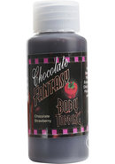 Chocolate Fantasy Body Topping Chocolate Strawberry 1 Ounce