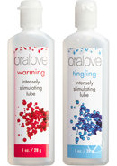 Oralove Dynamic Duo Lickable Warming And Tingling Lubes 1...