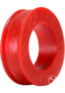 Pig Ring Silicone Cockring Red 2.25 Inch Diameter