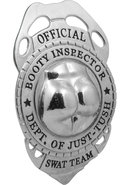 Official Booty Inspector Badge