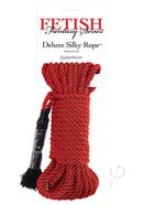 Festish Fantasy Series Deluxe Silk Rope Red 32 Feet